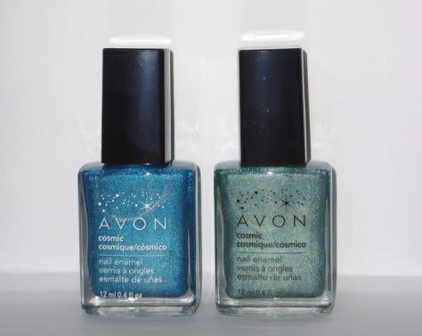 Avon Celestial & Galaxy Bottles
