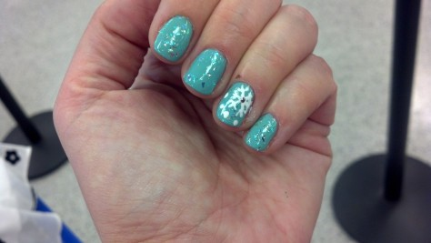 China Glaze for Audrey + Avon Opal