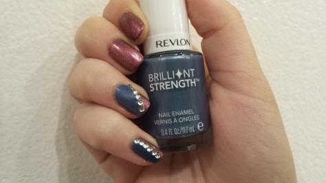 Dandy Nails Love Affair + Revlon Brilliant Color Intrigue