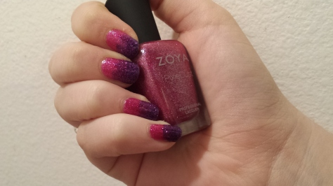 Zoya Pixie Dust Gradient 1
