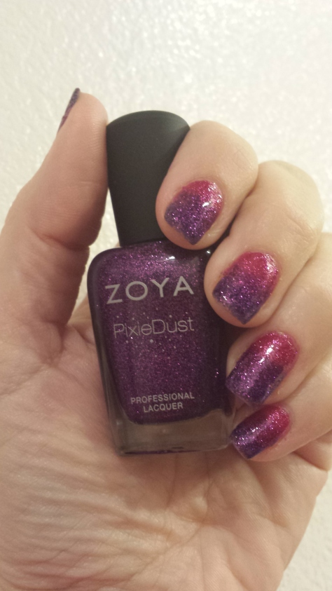 Zoya Pixie Dust Gradient 2