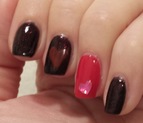 Pure Ice Glass Bordeaux, Essie Really Red2